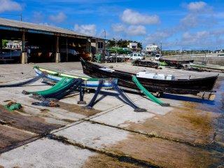 The Ou-jima fishing port