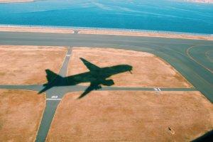 Departing Haneda Airport