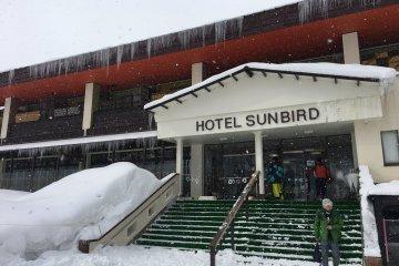 Entry to Hotel Sunbird