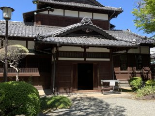 The entrance to the Old Asakura House