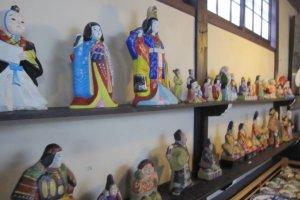 Locally made craft dolls