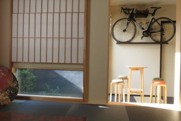 guests can store bicycles in their room