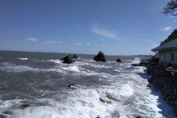 Approaching The Rocks