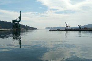 The Kamaishi Harbour