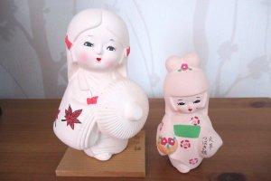 Куклы хаката, привезённые из Токио 28 лет назад
