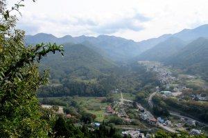 Вид с вершины храма Ямадэра