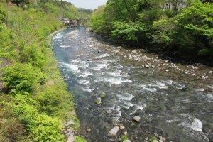 Горная река в Никко