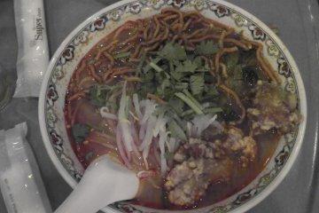 Spicy, spicy noodles!
