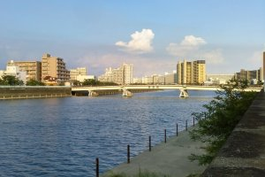 The famous Sumida River