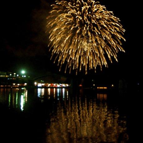 Kintaikyo Fireworks Festival