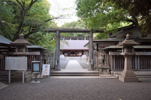 Nogi Shrine in Nogizaka, Tokyo
