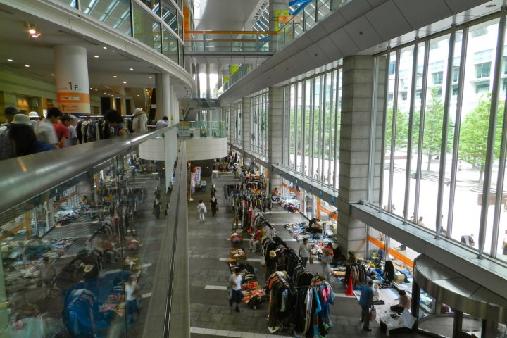 Shinagawa Intercity Flea Markets