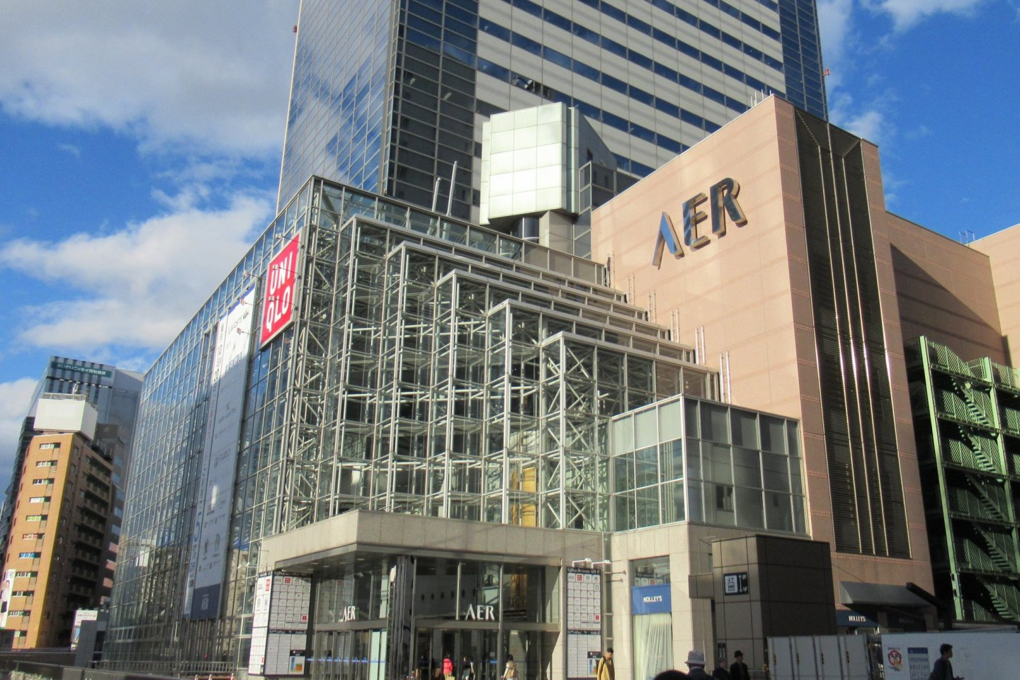 Uniqlo in Sendai\'s AER Building