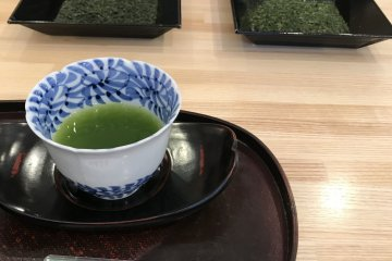 Sample some of Shizuoka's best tea