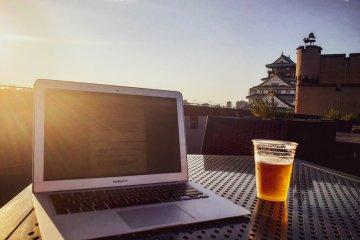 My outdoor office