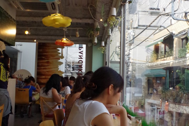 Pancake Days at Harajuku Bell Pier