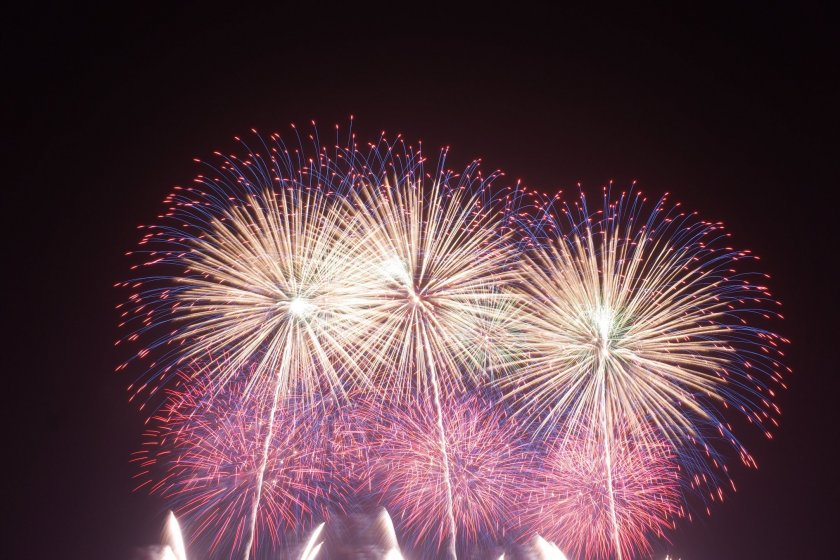 Some of the incredible fireworks from the Kumagaya Fireworks Festival
