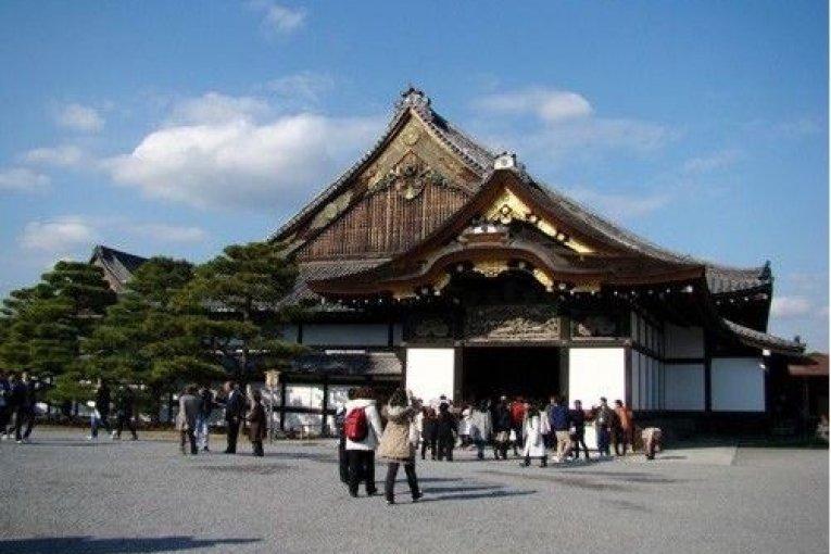 二条城,京都最奢华的雕刻建筑