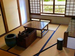 Комната с татами периода Мэйдзи