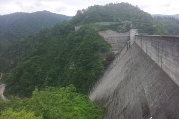 Okutadami Dam & Lake