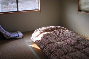 Tatami floor and futon