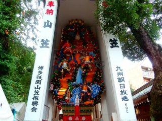 You can see this decoration float all year round at this shrine