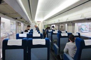 Shinkansen carriage