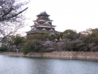 Hiroshima castle Don-jon