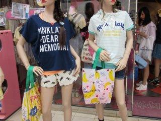 Summer fashions on Takeshita