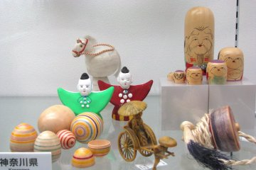 Dolls and toys from Kanagawa