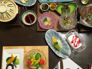 The number of dishes and courses you get often boggles the mind