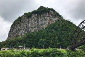 Yagigahana towers around 200 meters high