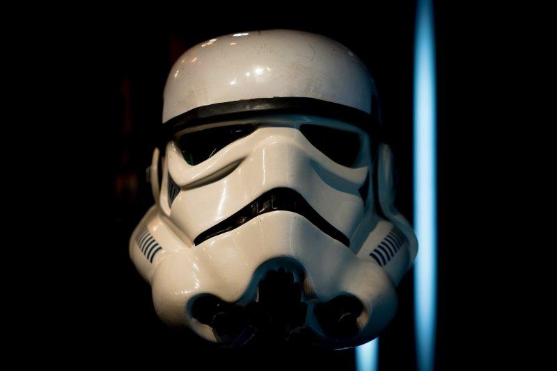 Star Wars stromtrooper character