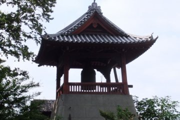 The bell's sounds are now part of the 100 Soundscapes of Japan