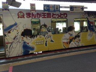 Поезд, который отвезет вас в к станции Сакаиминато