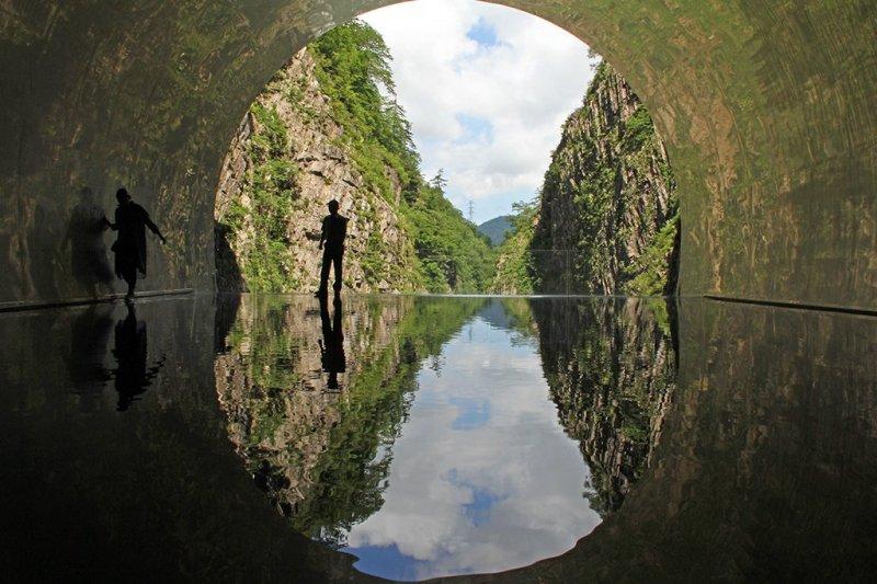© Tunnel of Light, Ma Yansong/MAD Architects, Echigo-Tsumari Art Triennale