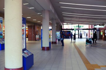This is the station's lobby
