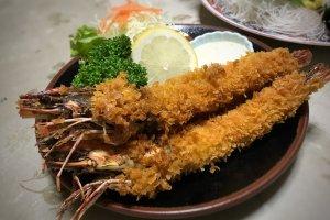 Ever had an ebi-fry with the whole shrimp?