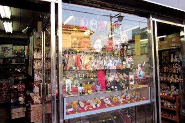 Souvenir shop in Kawagoe