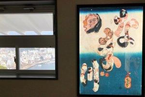Exposições em todos os andares