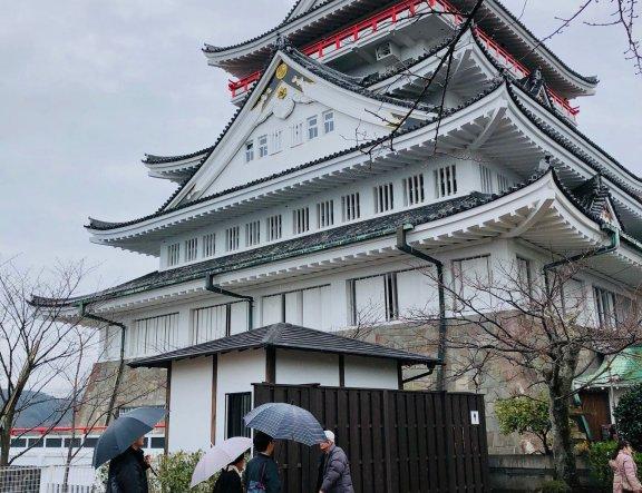Castelo de Atami permite muita interatividade
