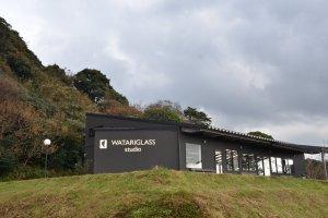ワタリグラススタジオ全景
