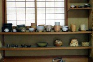 Hagi pottery.