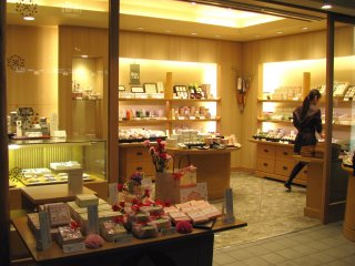 Sweets shop, Kyoto