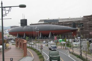 Akishio submarine in Kure
