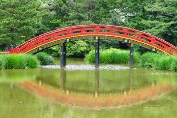 Arch Bridge in June
