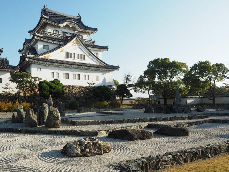 Сад замка Кисивада