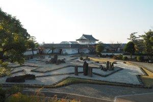 岸和田城庭园