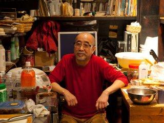 The master, Shū-san