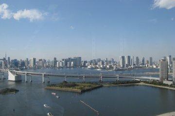 View of Odaiba Marine Park